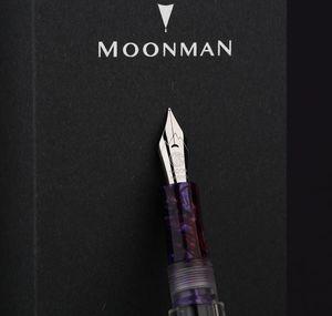 Image 4 - מונמן C1 שקוף הטפטפת עט נובע F ציפורן דיו עט קופסא מקורית