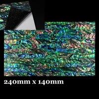 Wifreo Blue Paua Coated Enhanced Adhesive Veneer Sheet Shell Inlay Abalone Fish Lure Trolling Jig Building
