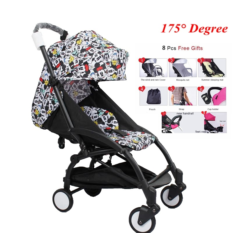 Yoya Baby Stroller 175 Degrees Portable Prams Travel Baby Car Cariage Lightweight Infant Trolley Umbrella Babyzen Yoyo Stroller