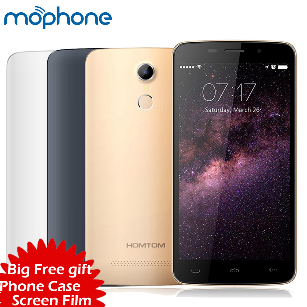 bilder für Original HOMTOM HT17 4G LTE Smartphone 5,5 zoll IPS Android 6.0 MTK6737 Quad Core 3000 mAh Batterie Handy