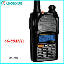 New Wouxun KG-699 66-88mhz Two Way Radio Voice Transmitter and Receiver Ham Walkie Talkie