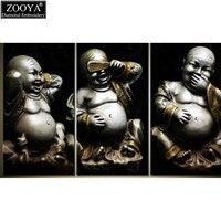 Zhui Star 5D DIY Diamond Embroidery Laughing Buddha Diamond Painting Cross Stitch Full Square Rhinestone Mosaic