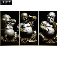 Zhui Star 5D DIY Diamond Embroidery Laughing Buddha Diamond Painting Cross Stitch Full Square Rhinestone Mosaic