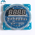 Rotativa Display LED Alarme Eletrônico Relógio DS1302 Módulo Display LED De Temperatura