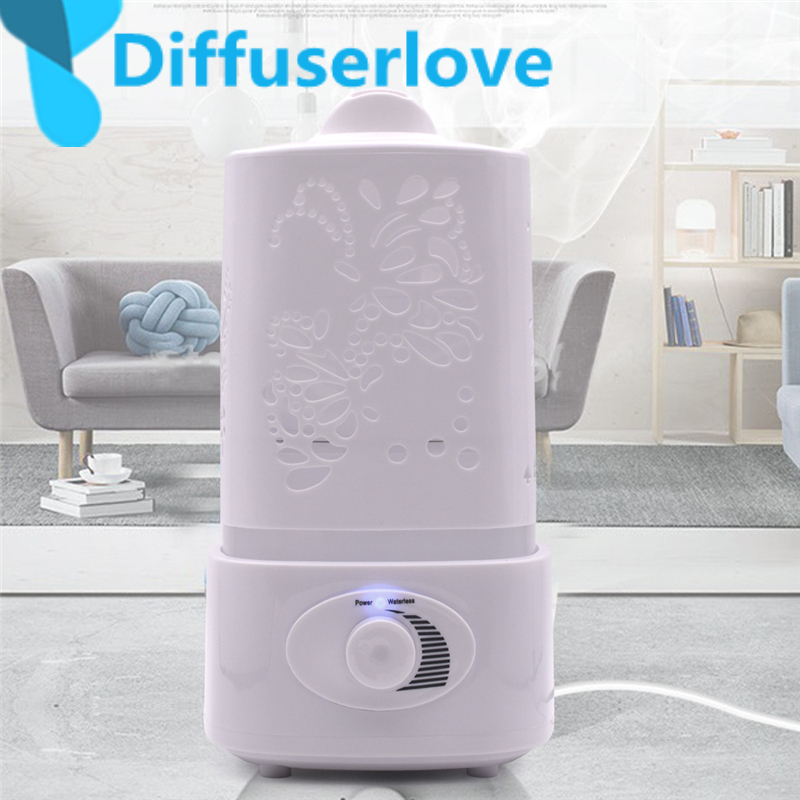 Diffuserlove 1.5L Air Humidifier for Home Essential Oil Diffuser Humidificador Mist Maker 7Color LED Aroma Diffusor Aromatherapy 1 5l ultrasonic air humidifier for home essential oil diffuser humidificador mist maker 7color led aroma diffusor aromatherapy
