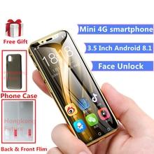 Карманный 4G LTE смартфон K-touch i9 16 Гб/32 ГБ/64 Гб rom Android 8,1 модный gps Face ID Google Play Store мобильный телефон для детей
