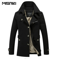 New Fashion Spring Autumn Trench Coat Men Solid Slim Men Casual Jacket