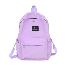 Backpack Women Nylon Bagpack Softback Solid Bag Fashion Soft Handle Travel Mochila Mujer Escolar Backpack  School Bags for Girls все цены