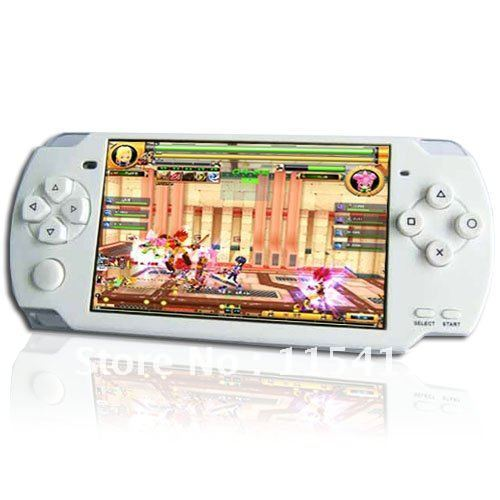 Game MP4 Player MP5 MP3 Players 4.3 Inch LCD Screen 16GB FM TV OUT 3000 Games Camera M-P02