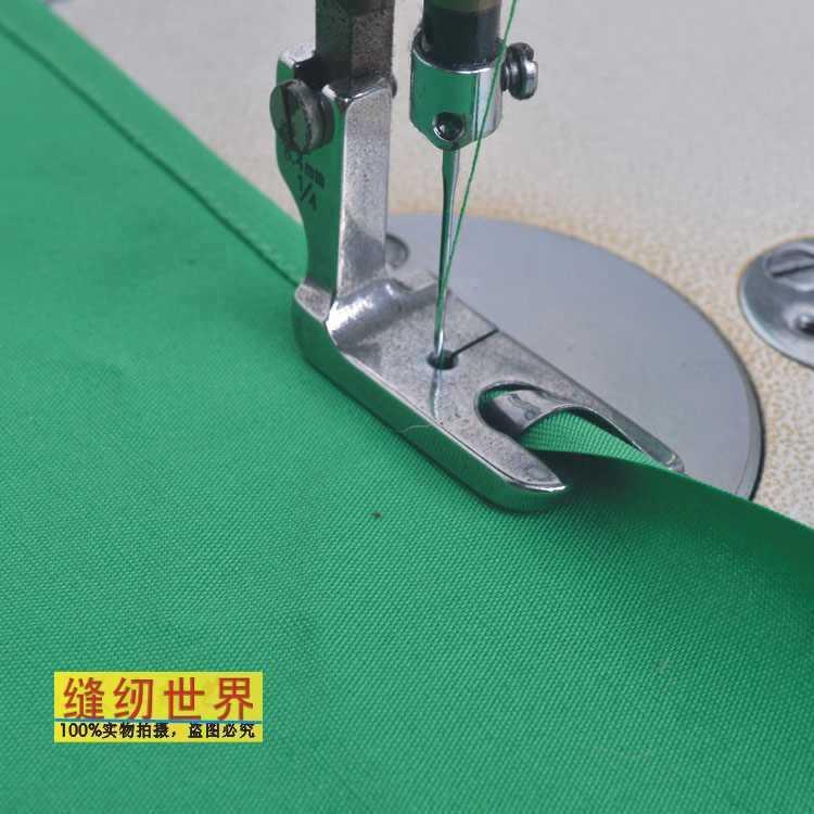 Hemmer Presser/piedino da passeggio, macchina da cucire industriale a punto annodato, materiale d'acciaio, 5 pz/lotto, per jack, Juki, cantante, GEMSY...