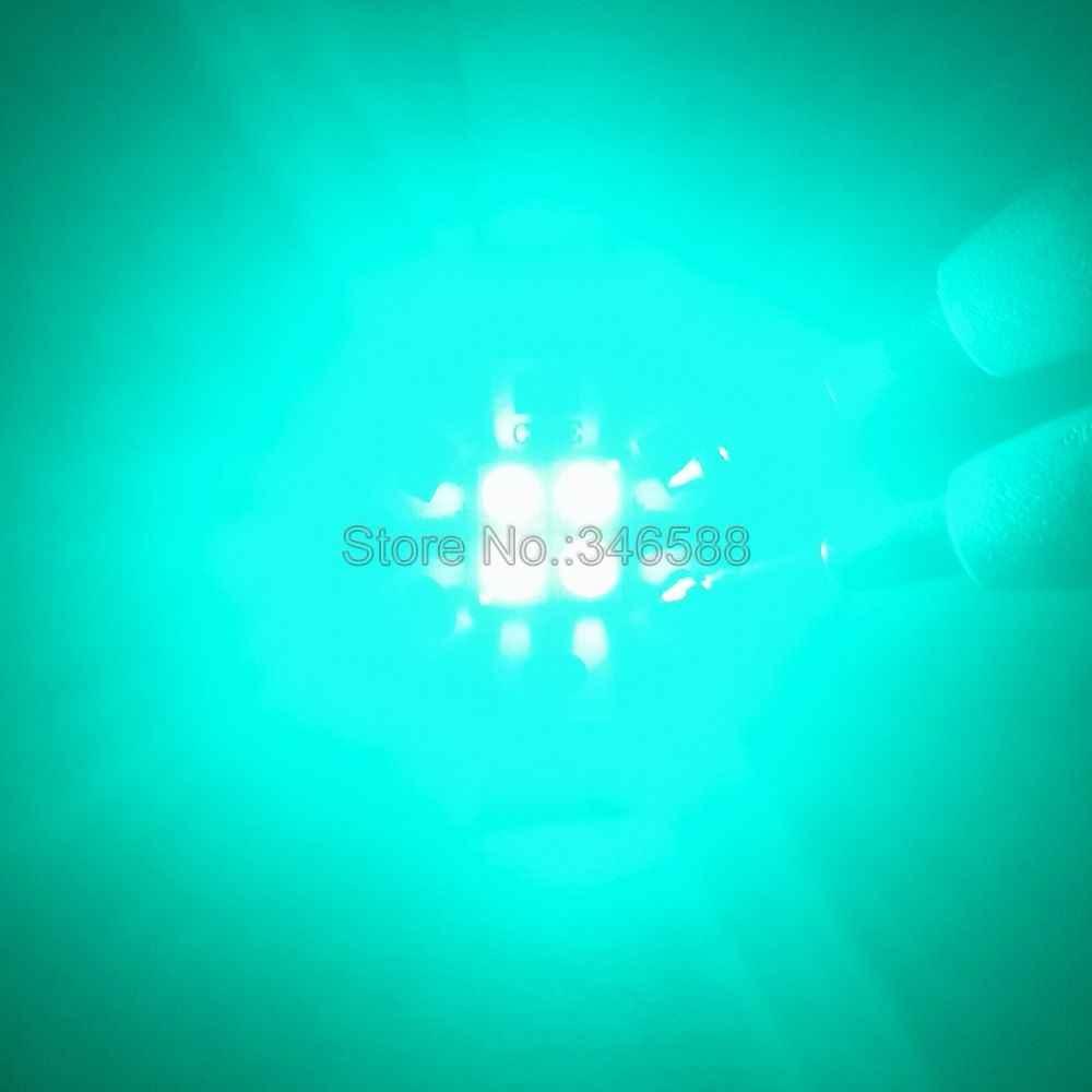 3 В/6 в/12 В 4 чипа Epi светодиодный s 3535 4 чипа 4 светодиодный s 4-18 Вт высокомощный растительный светодиодный излучатель голубой цвет 490нм с 20 мм медной печатной платой