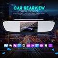 Новый Универсальный Автомобиль Зеркало Заднего вида Монитор 4.3 Дюймов Цветной TFT LCD Парковка 4.3 ''Монитор Заднего Вида для Резервного Копирования Обратный камера