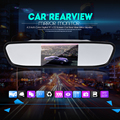 New Universal Car Rear View Mirror Monitor 4.3 Inch Color TFT LCD Parking 4.3'' Rearview Monitor for Backup Reverse Camera