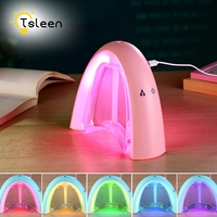 400ML Rainbow Air Ultrasonic Humidifier With LED Lamp Air Freshener Atomizer USB Humidificador Essential Oil Diffuser