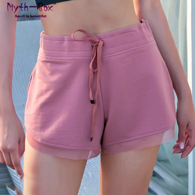 Summer Women Beach   Shorts   Plage Drawstring Pants Surf   Board   Swimsuit Quick Dry Gym Workout Elastic Running   Shorts   Skinny Bottoms