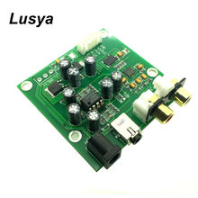 ES9018K2M I2S/IIS DSD Digital Audio DAC Decoder Board Support 32bit 384k AUX Analog Output for Hifi Amplifier Board F4-009(China)