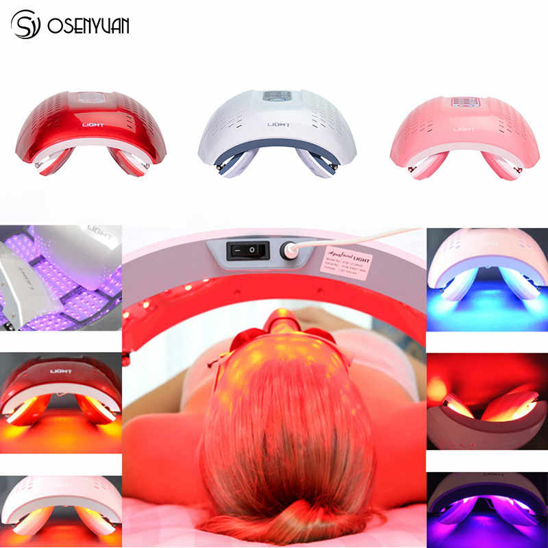 Lámpara de terapia de luz de fotón LED PDT para el hogar, máscara de SPA de belleza para el cuerpo Facial, removedor de arrugas y rejuvenecimiento de la piel dispositivo