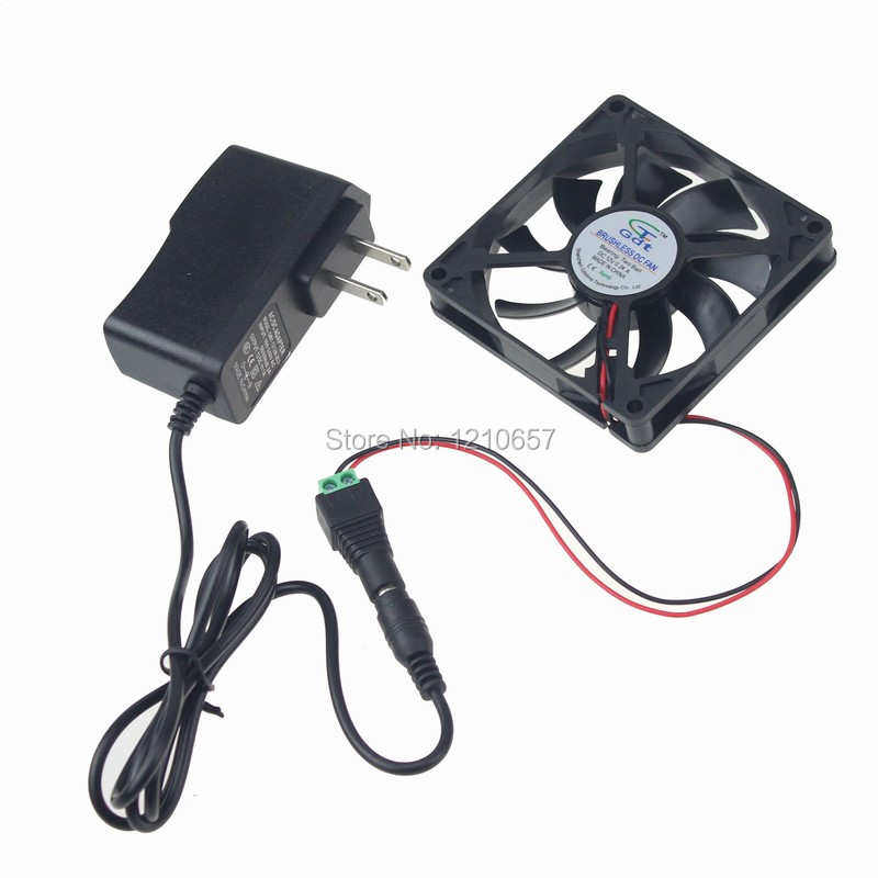 5pcs Lot Gdstime Ball Ac Cabinet Cooling Fan System 80x15mm 80mm 8015 2700rpm