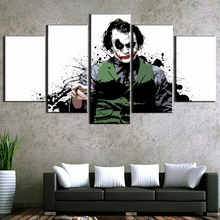 Framed 5 Piece Canvas Art Jokes On You Movie Modern Decorative Paintings on Wall for Home Decorations Decor
