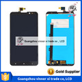 Black Full LCD Display + Touch Screen Digitizer Assembly For Lenovo S939