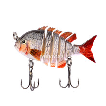 2016 new 1pcs Fishing Lure 6cm/5.5g fish supplies crankbait fishing wobblers 6# Hook Fishing Tackl free shipping