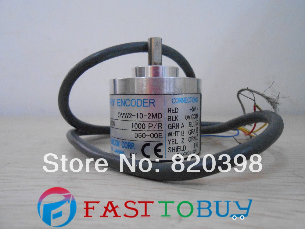 OVW2-10-2MD NEMICON encoder 1000p/R new inbox 10 2 2