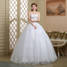 962cab4bc56 New Bandage Tube Top Crystal Luxury Wedding Dress Bridal gown wedding  dresses vestido de noiva(