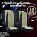 Balde de carro Styling com Tampas de Assento Do Carro Universal Volante Cobre e Tampa Do Cinto de segurança