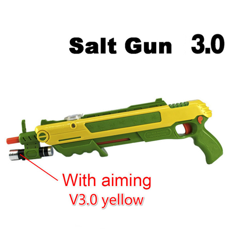 Creative bug a salt Gun Salt and Pepper Bullets Blaster Airsoft for Bug Blow Gun Mosquito Model Toy Salt Gun Bicycle Light крышка eley диамтер 28 см