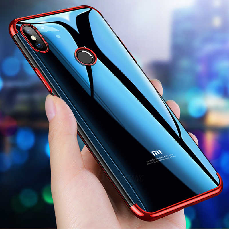 Ультра тонкий прозрачный PC задняя крышка для Xiaomi Redmi 4X 5A 5 Plus 6A 6 Pro S2 TPU силиконовый чехол для телефона Redmi Note 5 6 Pro 4 4X чехол