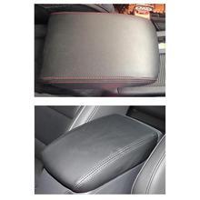 Авто аксессуары Высокое качество из микрофибры центральный ящик подлокотник защитный кожаный чехол для VW Golf 7 MK7 2013-2017