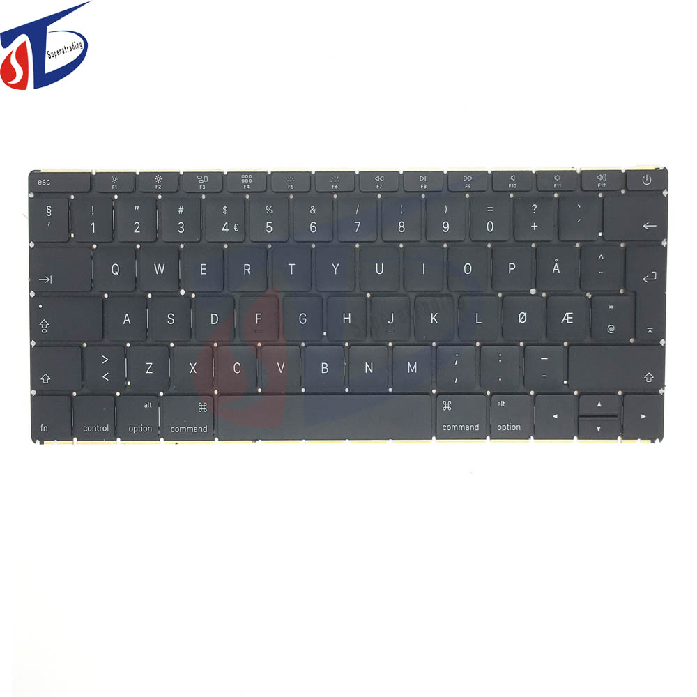 2015 year original for apple macbook retina 12inch A1534 Norway Norwegian NO NW keyboard without backlight backlit 2015year early 2015year original for apple macbook retina 12inch a1534 korean keyboard kr korea without backlight backlit