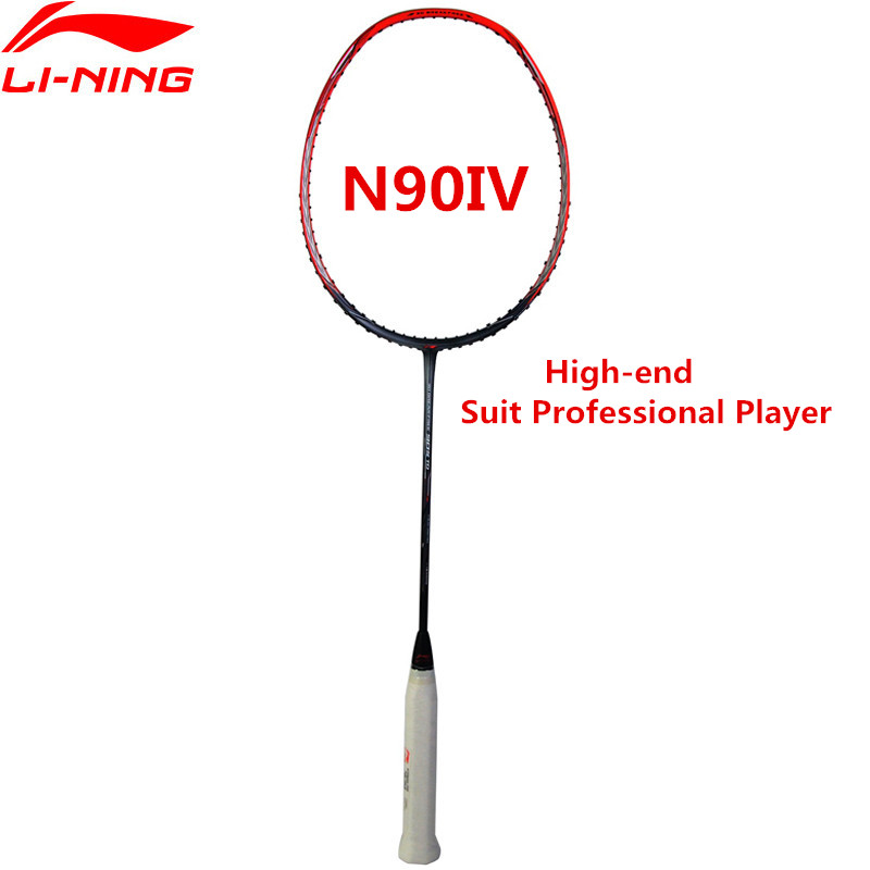 Li-Ning High-end 90IV Badminton Racket 3D Breakfree Professional Li Ning Sports Racquets AYPM322 L847