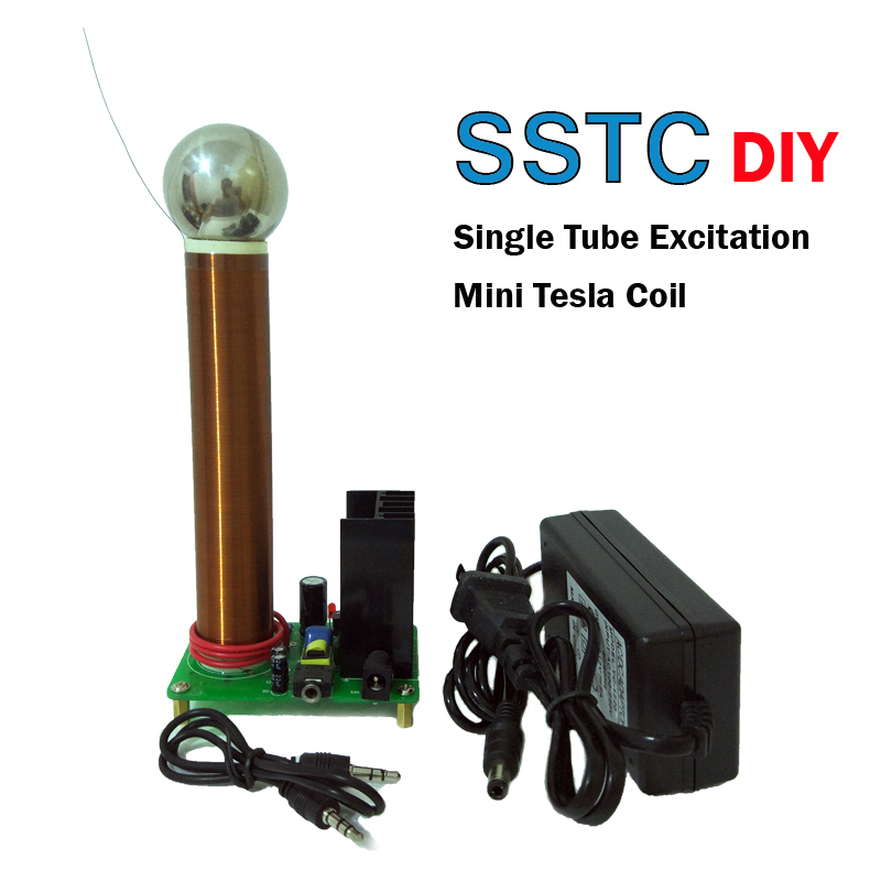DIY Mini Tesla Coil Plasma Speaker Arc loudspeaker music tesla coil Wireless Transmission Test SSTCDIY Mini Tesla Coil Plasma Speaker Arc loudspeaker music tesla coil Wireless Transmission Test SSTC