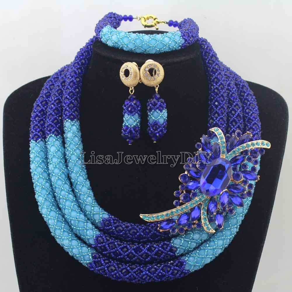2016 Royal Blue/Blue African Beads Jewelry Sets Nigerian Wedding Jewelry Sets Full Beads Indian Bridal Jewelry Sets HD76182016 Royal Blue/Blue African Beads Jewelry Sets Nigerian Wedding Jewelry Sets Full Beads Indian Bridal Jewelry Sets HD7618