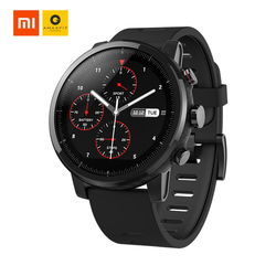 Global Version Xiaomi AMAZFIT Stratos 2 Huami GPS Smart Sports Watch 5ATM Waterproof Smartwatch Gift Blitzwolf BT Selfie Stick