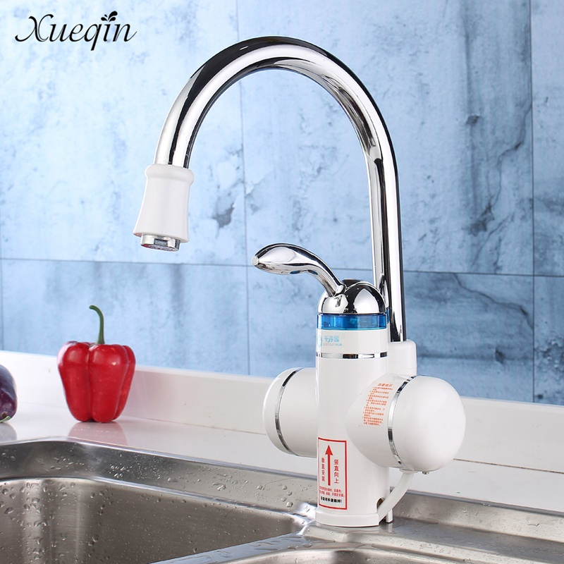 Xueqin 220V Instant Electric Water Heater LED Digital Kitchen Basin ...