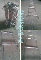 8 м высокопрочная стальная проволока пожарная лестница восхождение складная лестница