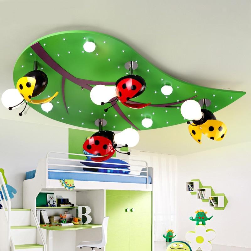 Creative cartoon children s room led ceiling lamp cozy the room boy girl modern bedroom Ceiling