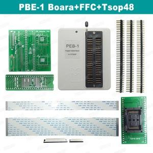 Image 2 - رائجة البيع RT809F شاشة الكريستال السائل ISP مبرمج مع SOP8 Peb لوحة تمديد EDID كابل 1.8 فولت محول وجميع محولات شحن مجاني
