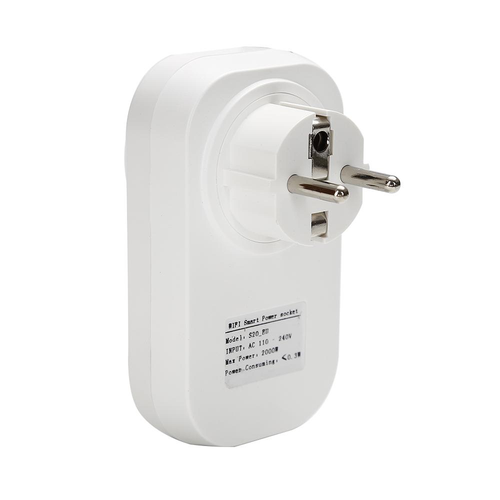 Gorący sprzedawanie Sonoff S20 Inteligentnego Domu Ładowania Adapter Bezprzewodowy Inteligentny Przełącznik BEZPRZEWODOWY Pilot Zdalnego Sterowania Gniazdo Zasilania UE/USA/UK Standard 12