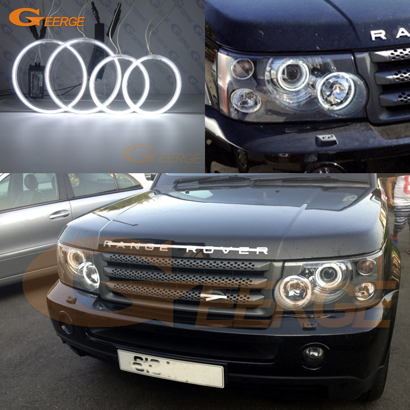 For Land Rover Range Rover L322 2006 2007 2008 2009 XENON HEADLIGHT Ultra bright illumination CCFL Angel Eyes kit усилитель руля насос для land rover зазвонил rover 4 4 l322 вшэ oem qvb500430 новый