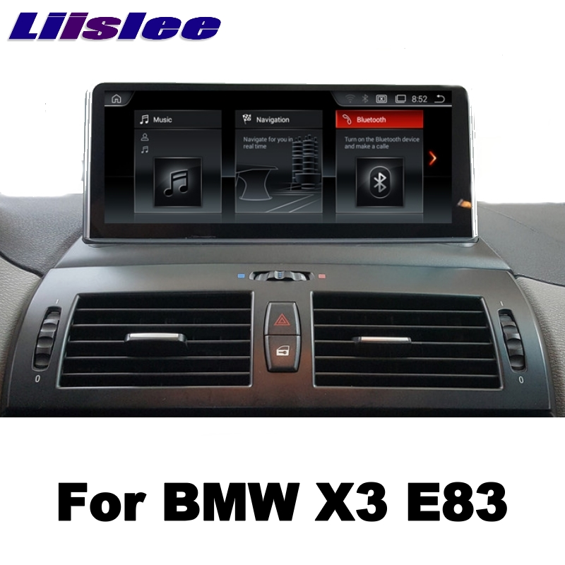 LiisLee 10.25Android For BMW X3 E83 2003~2010 Car Multimedia GPS Map Audio Radio Stereo Original Style Navigation NAVI