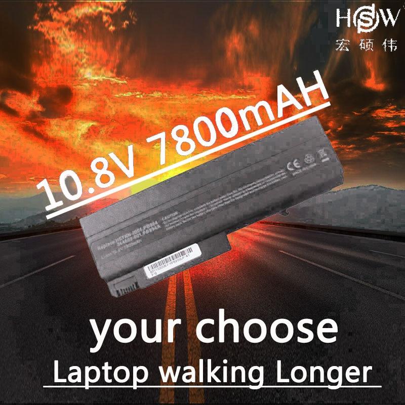HSW 7800MAH Battery for HP Compaq 6910p 6510b 6515b 6710b 6710s 6715b 6715s NC6100 NC6105 NC6110 NC6115 NC6120 NX6405 HSTNN DB05