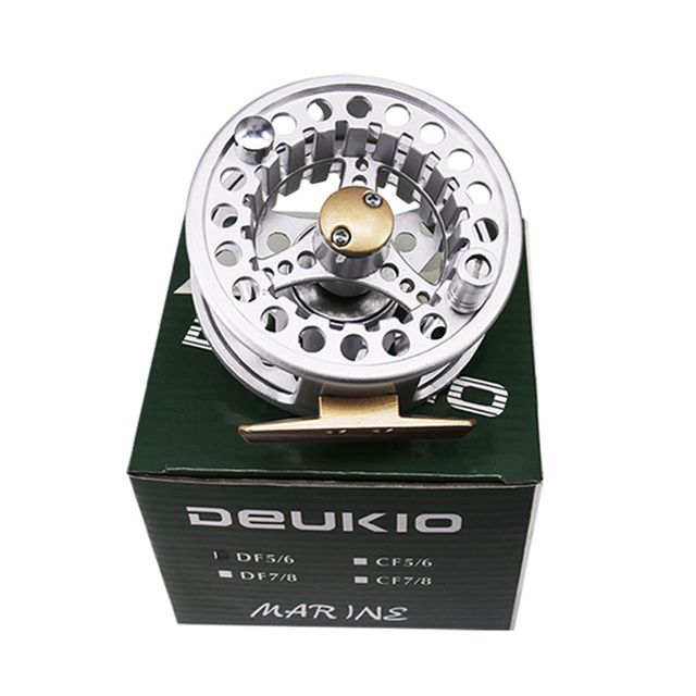 Best Price  18 New Full Metal Fly Fishing Reel 2+1BB Aluminum Alloy Die Casting Fishing Reel ice fishing reel pesca en hielo Lure Wheel