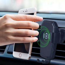 Wireless Car Mount Gravity Qi Wireless Charger Fast Wireless Charging Car Phone Holder For iPhone Samsung Gravity Car Charger