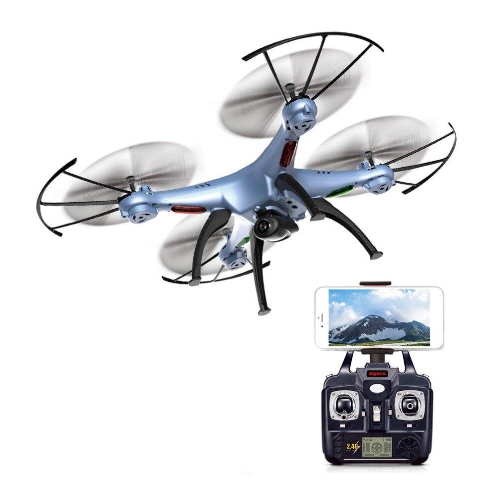 SYMA X5HW Дрон с камерой HD Wifi FPV селфи Дрон Квадрокоптер RC вертолет Квадрокоптер RC Дрон игрушка в подарок (X5SW обновление)