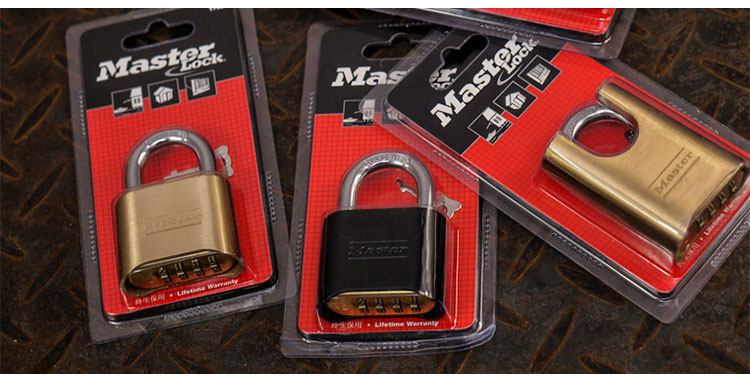 MASTER LOCK Tamper-proof Anti-corrosion Anti-rusting Waterproof BrPassword Combination Code Lock Padlock Anti-theft 178MCND (6)