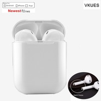 Smart mini TWS F11 Touch Wireless Bluetooth Earbuds Double ear Earphone Air pods Headsets with Mic For Android IphoneX/8