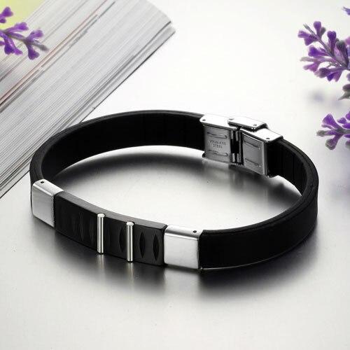 # BA100808 Free Shipping Bracelet for Men Jewelry Energy Bracelet Good Cuff Customized Wristbands